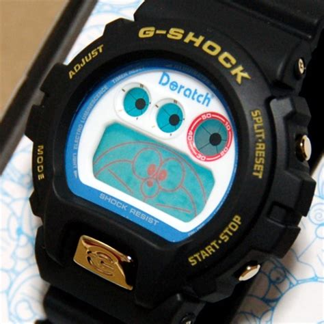 Kaos Gshock 17 doraemon g shock doraemon watches