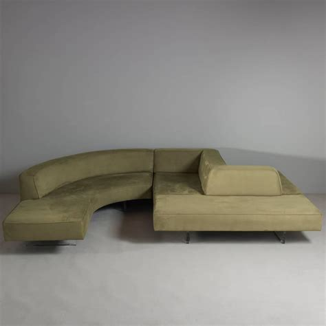 sensational sofas sensational vladimir kagan omnibus series sectional sofa