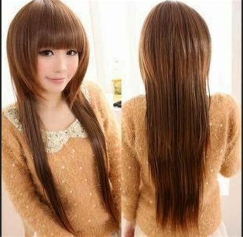 Model Rambut Yg Cocok Untuk Hidung Pesek by Model Rambut Panjang Untuk Wajah Bulat Dan Rambut Tipis