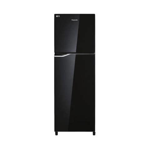 Kulkas Panasonic Econavi Inverter jual panasonic nrbb278gk kulkas 2 pintu econavy inverter 85w 266lt black shine harga
