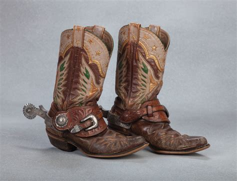 roy rogers boots and spurs west events