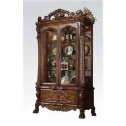 Curio Cabinets With Glass Doors Acme Furniture Dresden 12158 51 Quot Curio Cabinet With 2