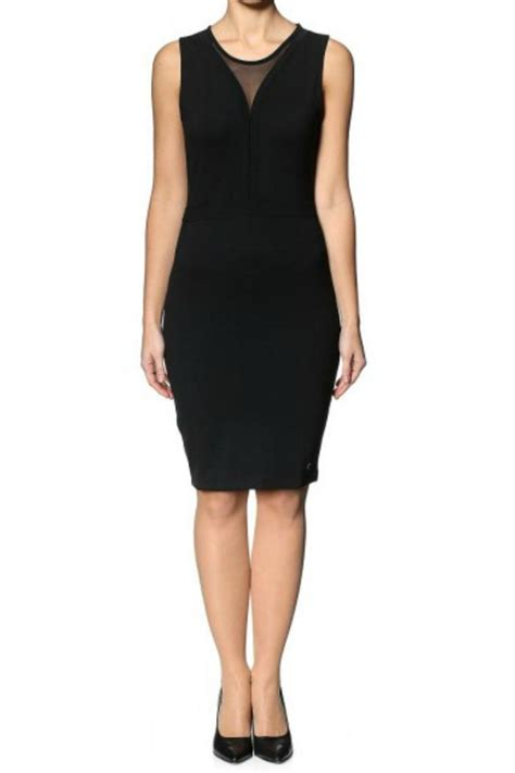 Sale Dress Import 6392 Black numph simple black dress from toronto by jupe shoptiques