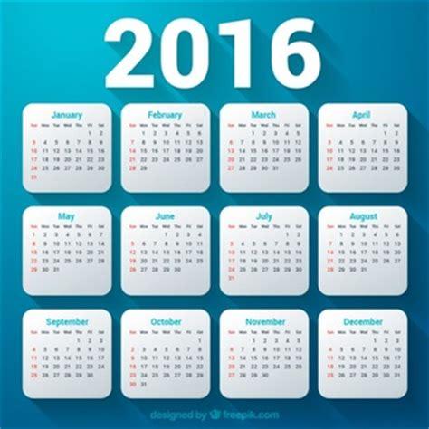 Business Card Calendar Template 2016 by Calendar Psd Templates Psd File Free