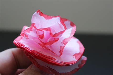 Paper Crafts Tissue Paper Flowers - tissue paper flowers mothers day craft flowers tissue