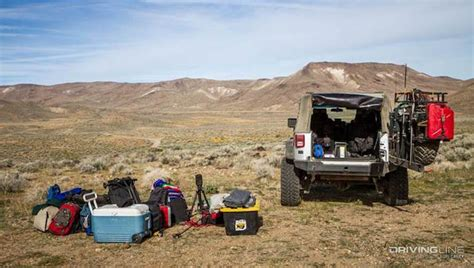 overland jeep setup how to overland in a two door jeep jk forum com the
