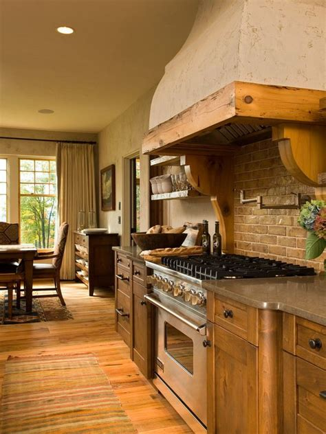 Rustic Country Kitchen Designs by Decorative Kitchen Hoods Both Functional And Beautiful