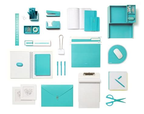 Teal Desk Accessories Home Office On Home Office Office Spaces And Offices