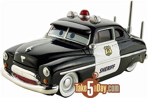 Disney Cars 3 Sheriff take five a day 187 archive mattel disney pixar cars
