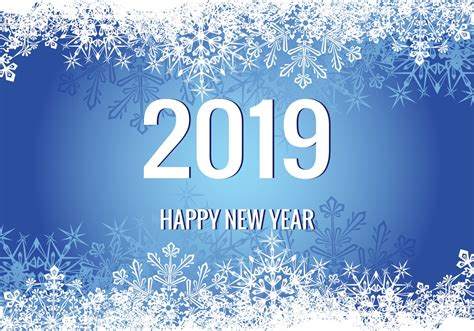 new year 2019 new year 2019 illustration free vector