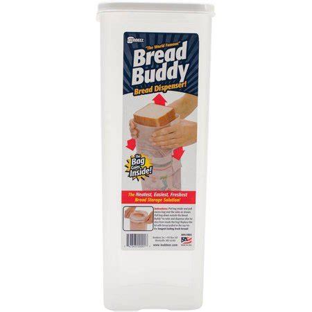 Bread N Budy buddeez sandwich loaf bread buddy dispenser 13 5 quot x 5 quot x