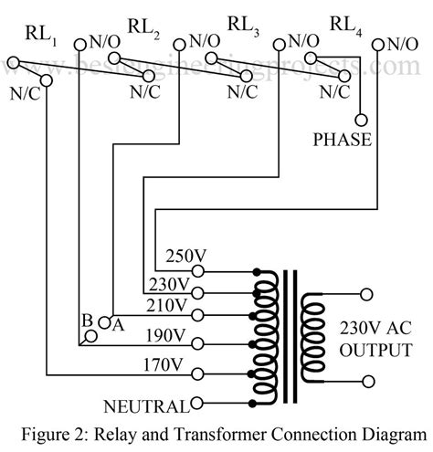 automatic voltage stabiliser circuit best engineering