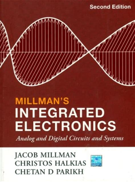 digital integrated circuits second edition integrated electronics analog and digital circuit 2nd edition buy integrated