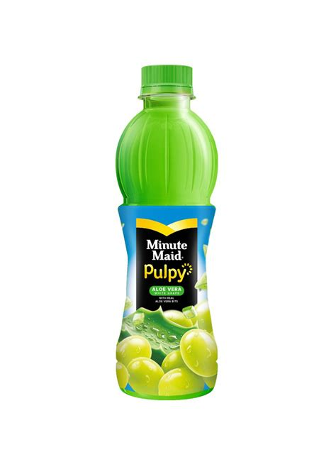 minute maid juice pulpy wht grape btl ml