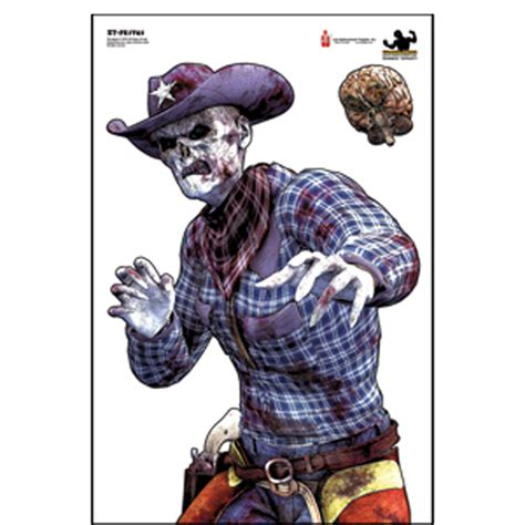 zombie paper targets printable law enforcement targets action target full color