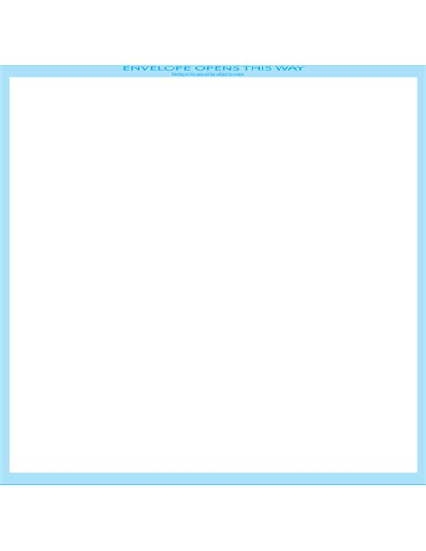 booklet envelope template booklet envelopes 9 x 12 front free