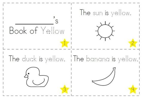 preschool yellow coloring pages 17 best images about preschool color days on pinterest