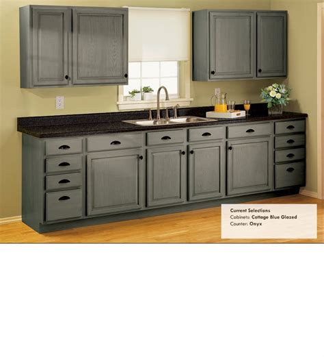 transforming kitchen cabinets cottage blue glazed onyx counters this is just a