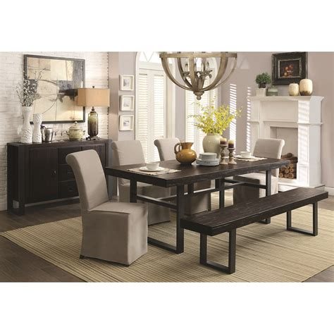 coaster keller casual dining room dunk bright