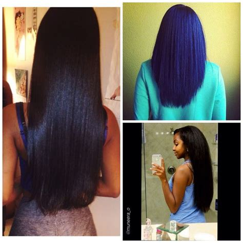 how to trim relaxed hair 25 best ideas about long relaxed hair on pinterest
