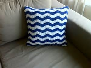 Pattern For Cushion Cover Crochet Ripple Cushion Cover Free Pattern