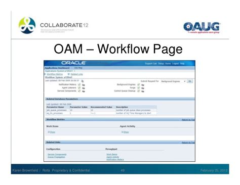 workflow administration oracle workflow use and administration