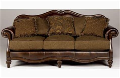 claremore antique sofa loveseat set claremore antique living room set from ashley 84303