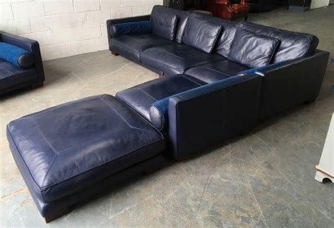 dfs leather corner sofa uk 163 5000 dfs california blue leather corner sofa set we