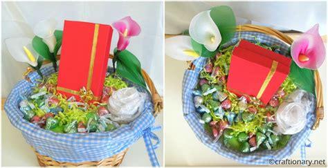 gift wrap basket ideas craftionary