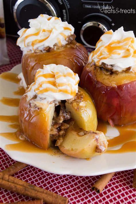 Light Crock Pot Recipes by Light Crock Pot Baked Apples Recipe Julie S Eats Treats