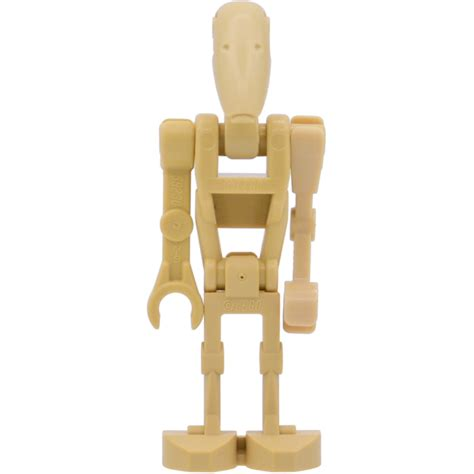 droid with lego battle droid with 1 arm minifigure brick