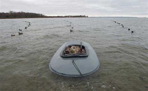 layout boat hunting lake michigan duck hunt trips in wisconsin