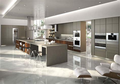 posh kitchen compositions fuse modularity  minimal