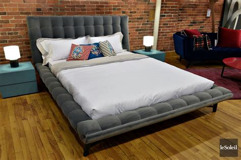 roche bobois canapé lit lit en tissu montreal