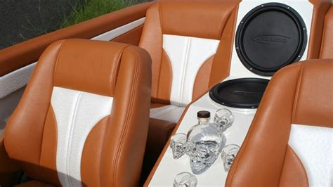 all car and marine upholstery audio for boat and vehicles from in stitches customs