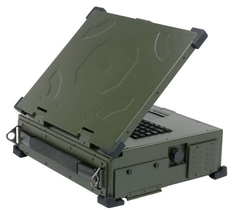 rugged portable computers ruggedized briefcase style portable computer with dual and cp pci express