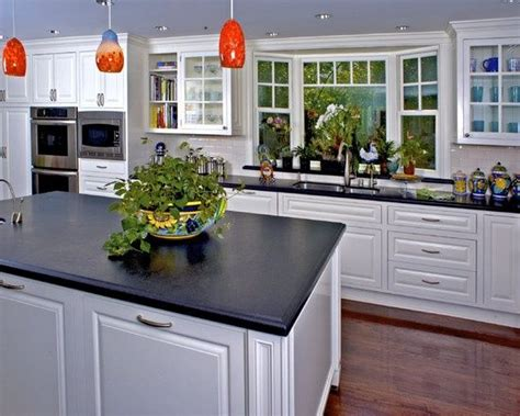 bay window kitchen sink house