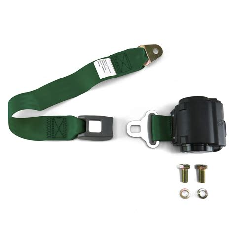 are 2 point seat belts 2 point green retractable seat belt with bolts ebay