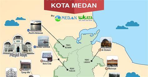 Sk Ii Di Medan peta wisata kota medan medan wisata story and travel
