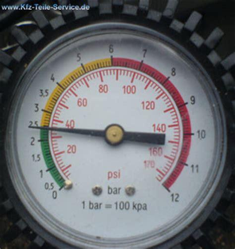 Wieviel Bar Autoreifen by Luftdruck Reifen Reifenluftdruck Dbv Alufelgen Und