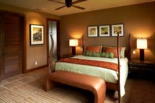 warm bedroom wall colors caramel color details for sophisticated bedroom look