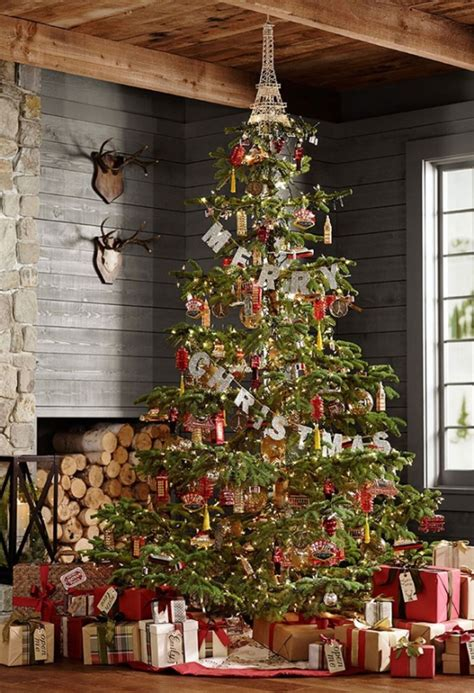rustic christmas tree decorations ideas decoration love