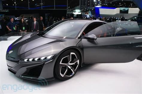 acura s nsx sports car is loaded with a v 6 and three