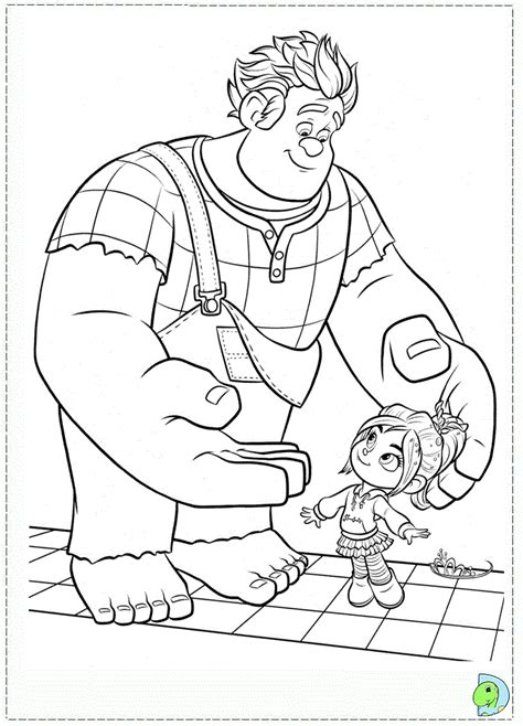 disney coloring pages wreck it ralph wreck it ralph coloring page dinokids org