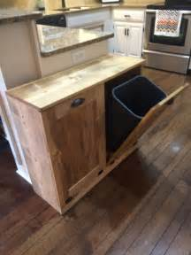 kitchen trash can ideas best 25 rustic recycling bins ideas on pinterest farmhouse recycling bins rustic kitchen
