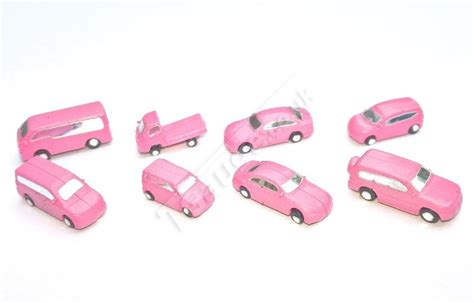 Cp Pink t 8 pc limited edition pink vehicle car set b
