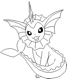 ninetails lines by sulfura on deviantart vaporeon lines by sulfura on deviantart