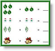 christmas math worksheets for preschool pre k