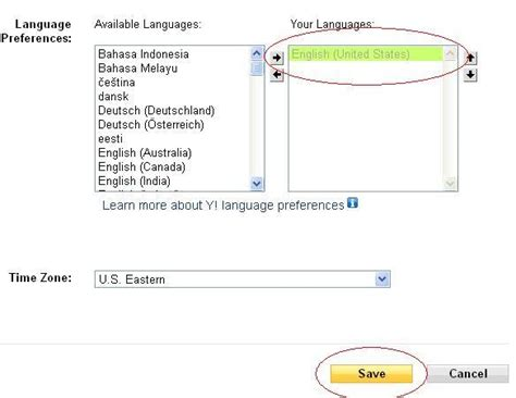 email yahoo english how to change the language in a hacked yahoo mail account
