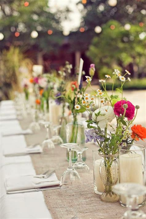 Wedding Tablescapes 10 country chic amp rustic wedding tablescapes